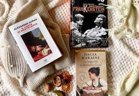 Il Conte di Montecristo, Frankenstein, La lunga Vita di Marianna Ucrìa
