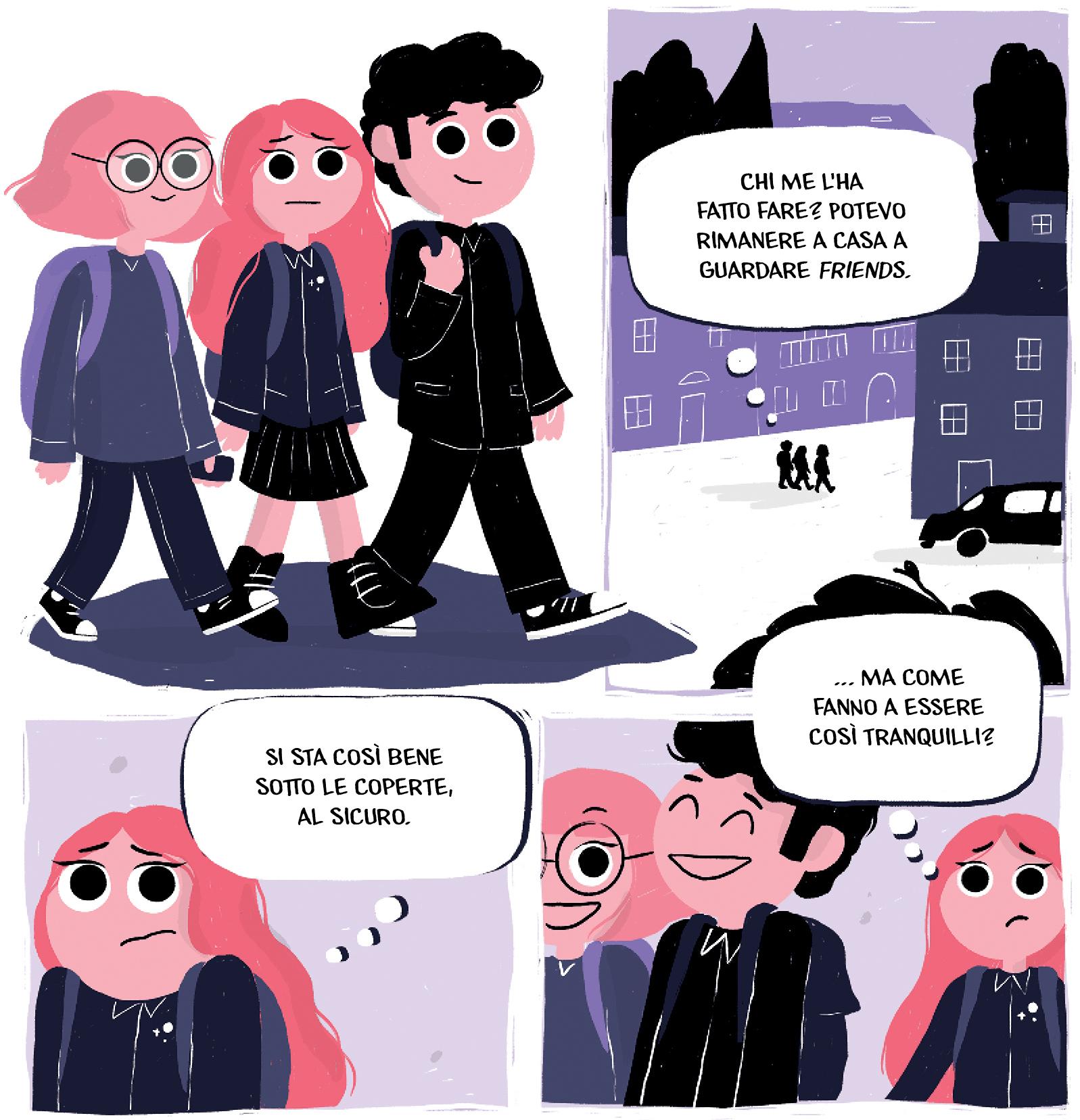 Il cerchio magico, la graphic novel di Carlotta Scalabrini